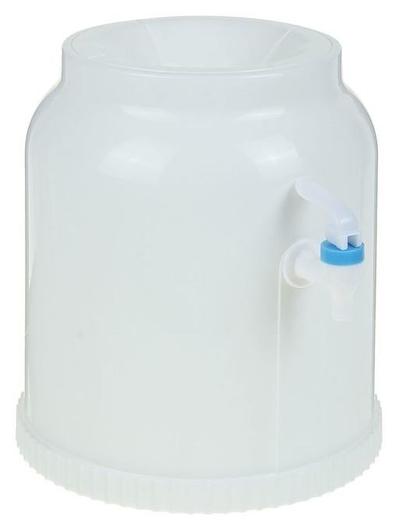 Кулер-водораздатчик для воды, бутылка 20л, без подогрева и охлаждения LuazON