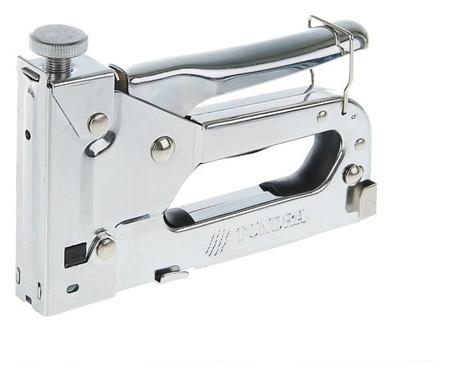 Степлер мебельный Tundra, регулируемый, металлический корпус, тип скоб 53, 4 - 14 мм  Tundra
