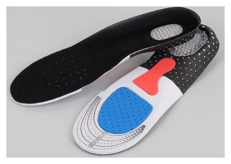 Стельки для обуви, дышащие, 36-40 р-р, пара, цвет чёрный  Onlitop