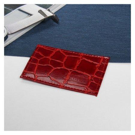 Футляр для карточки, цвет красный  Cayman