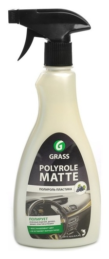 Полироль пластика Grass Polyrol Matte матовый, виноград, 500 мл, триггер  Grass