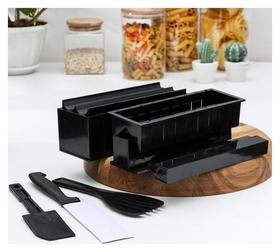 Набор для приготовления роллов «Мидори», 9 предметов, нож 15 см  Доляна
