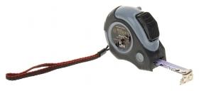 Рулетка Tundra, двухкомпонентный корпус, автостоп, 5м х 19 мм, магнитный зацеп  Tundra