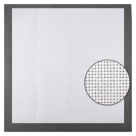 Канва для вышивания, №14, 50 × 50 см, цвет белый  Gamma