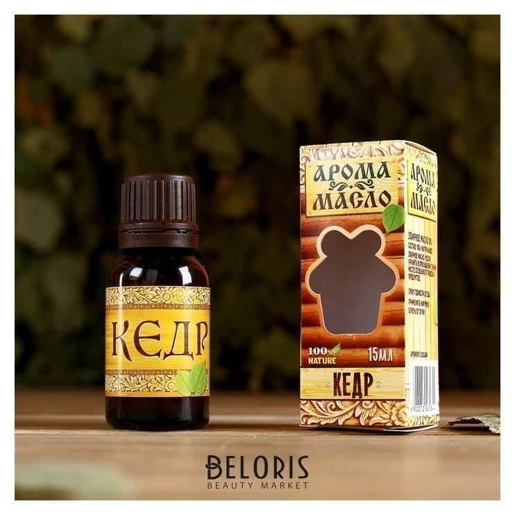 Эфирное аромамасло для бани и сауны Кедр 15мл Банная забава