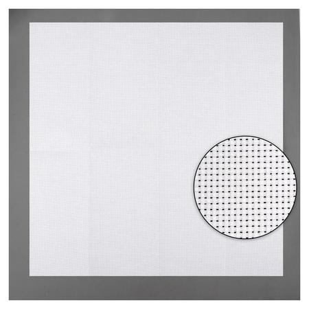 Канва для вышивания, №11, 50 × 50 см, цвет белый  Gamma