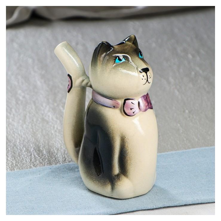"""Кружка-поилка """"Кот"""", 0.2 л  Керамика ручной работы"""