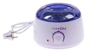 Воскоплав баночный электрический Luazon Lvpl-07, 400 гр, регулир T, 100 Вт. 220в сиреневый  LuazON