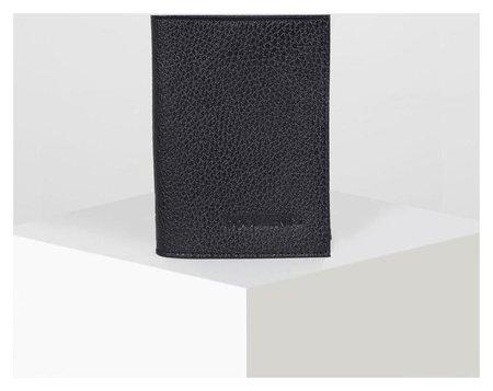 Обложка для автодокументов, цвет чёрный  Максим