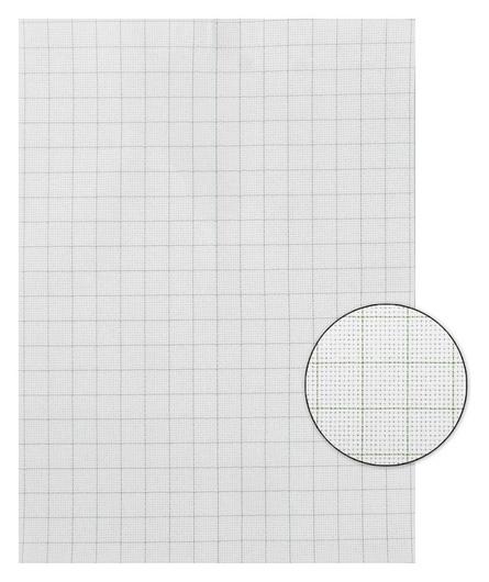 Канва для вышивания, в клетку, №14, 30 × 40 см, цвет белый  Gamma