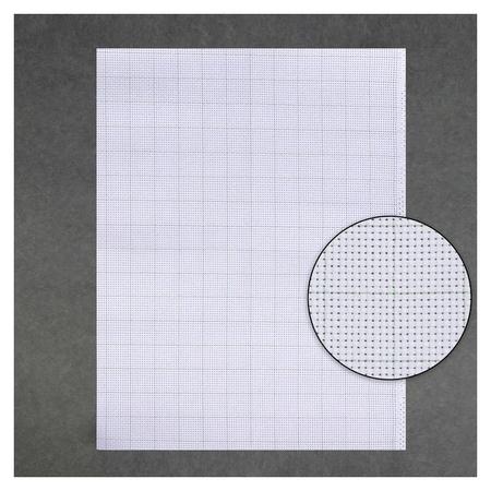 Канва для вышивания, в клетку, №11, 30 × 40 см, цвет белый  Gamma