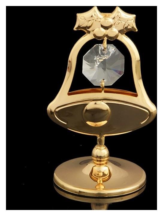 Сувенир «Колокольчик», с кристаллами сваровски, 6 см  Swarovski Elements
