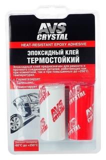 Клей эпоксидный AVS Avk-128, термостойкий, 80 г  AVS