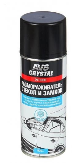 Размораживатель стекол и замков AVS Avk-121, 520 мл, аэрозоль  AVS