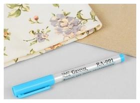 Маркер для ткани, смывающийся, цвет голубой  Gamma