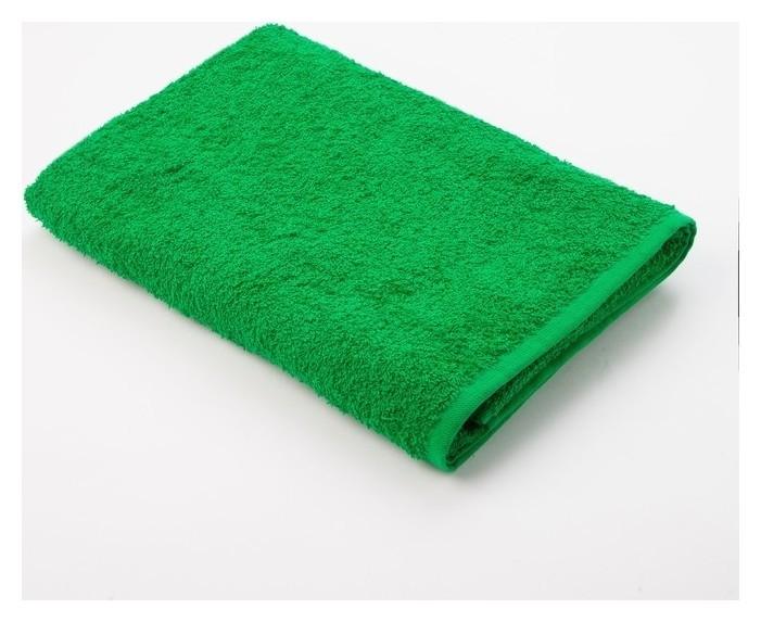 Полотенце махровое «Экономь и Я» 30х60 см, цвет зелёное яблоко  Экономь и Я