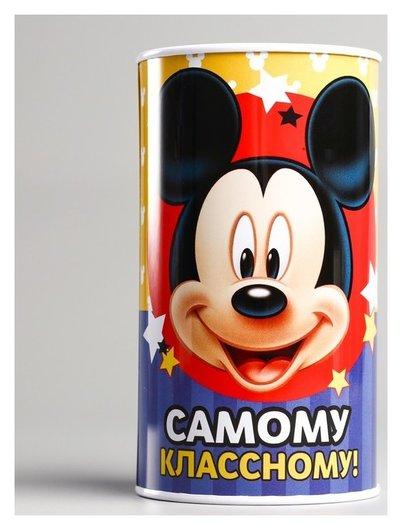 """Копилка детская """"Самому классному"""", микки маус, 6,5 х 12 см  Disney"""