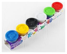 Набор для детского творчества «Тесто-пластилин», 6 цветов по 50 г  Genio Kids