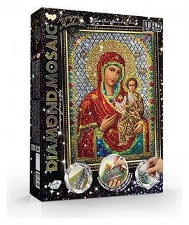 Набор креативного творчества «Diamond Mosaic. пресвятая богородица» малый  Danko toys