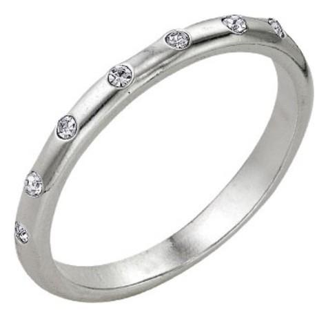 """Кольцо посеребрение """"Венчание"""", 18 размер  Красная пресня"""