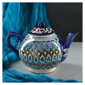 Чайник 1000 мл  Риштанская керамика