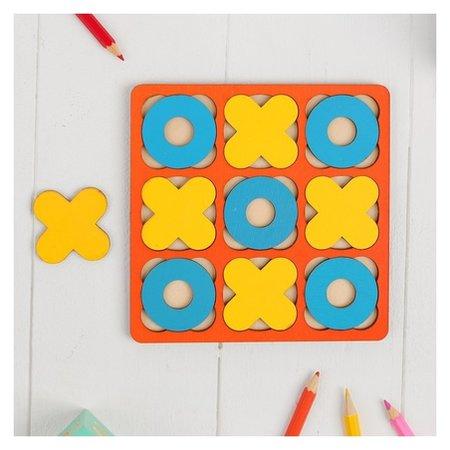 Рамка-вкладыш «Крестики - нолики» 10 элементов