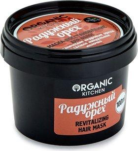 """Маска-восстановление для волос """"Радужный орех""""  Organic Kitchen"""