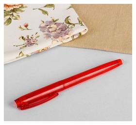 Ручка для ткани, термоисчезающая, цвет красный №03  Gamma