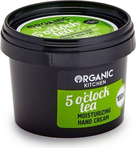 """Крем для рук увлажняющий """"5 o""""clock tea""""  Organic Kitchen"""