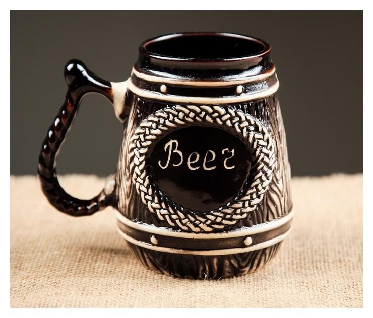 Кружка для пива Beer, 350 мл  Керамика ручной работы