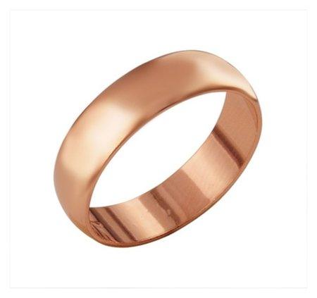 """Кольцо позолота """"Обручальное"""", 17 размер  Красная пресня"""