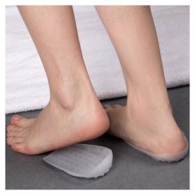 Подпяточники для обуви, силиконовые, 12 × 7,5 см, пара, цвет белый  Onlitop