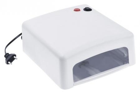 Лампа для гель-лака Luazon Luf-15, UV, 36 Вт, матовая, белая  LuazON