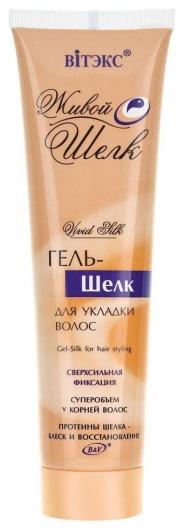 Гель-шелк для укладки волос, сверхсилная фиксация  Белита - Витекс
