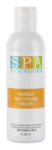 Базовое массажное масло  Альганика