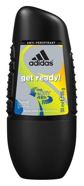 "Роликовый антиперспирант ""Get Ready Male""  Adidas"