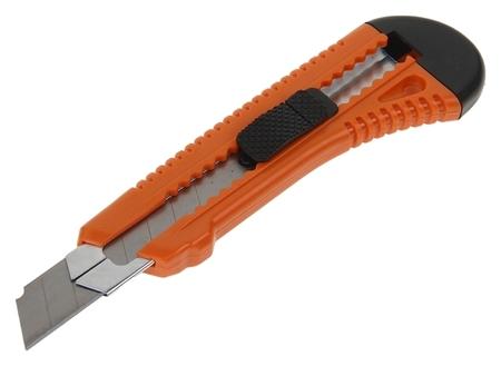 Нож универсальный Sparta, корпус пластик, квадратный фиксатор, усиленный, 18 мм  Sparta