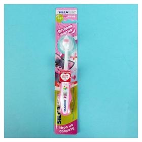 Зубная щетка детская Веселая чистка  SILCA