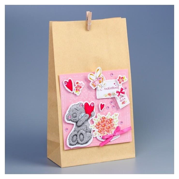 Пакет подарочный «Для тебя», набор для создания, Me To You  Me to you