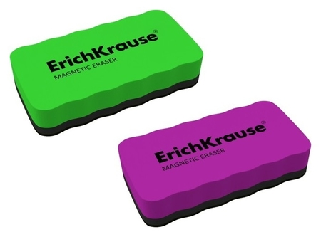 Губка для маркерных досок магнитная, 107 X 57 мм, Erich Krause  Erich krause
