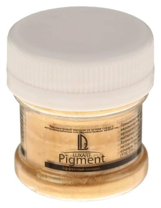 Декоративный пигмент, Luxart Pigment, 25 мл/6 г, Metallic, золото  Luxart