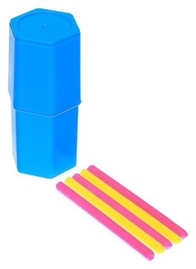 Набор счётных палочек, 20 штук шестигранных флуоресцентных  Рантис