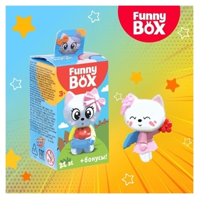 Набор для детей Funny Box Котик набор: радуга, инструкция, наклейки