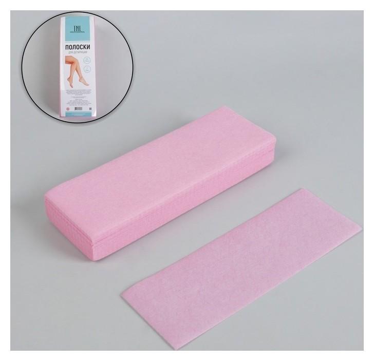 Полоски для депиляции цвет розовый  TNL Professional