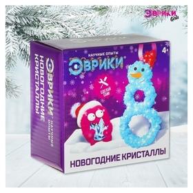Набор для выращивания кристаллов «Снеговик» Эврики