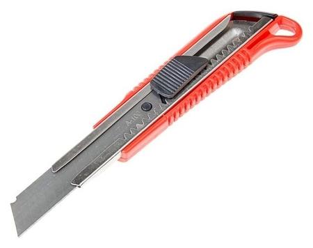 Нож универсальный Lom, пластиковый корпус, металлическая направляющая, 18 мм  LOM