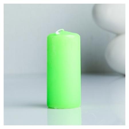Свеча пеньковая ароматическая Яблоко 4 х 9 см  Омский свечной завод