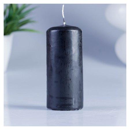 Свеча классическая 4х9 см чёрная