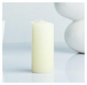 Свеча пеньковая ароматическая Ваниль 4 х 9 см  Омский свечной завод