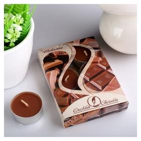 Набор чайных свечей ароматизированных Шоколад